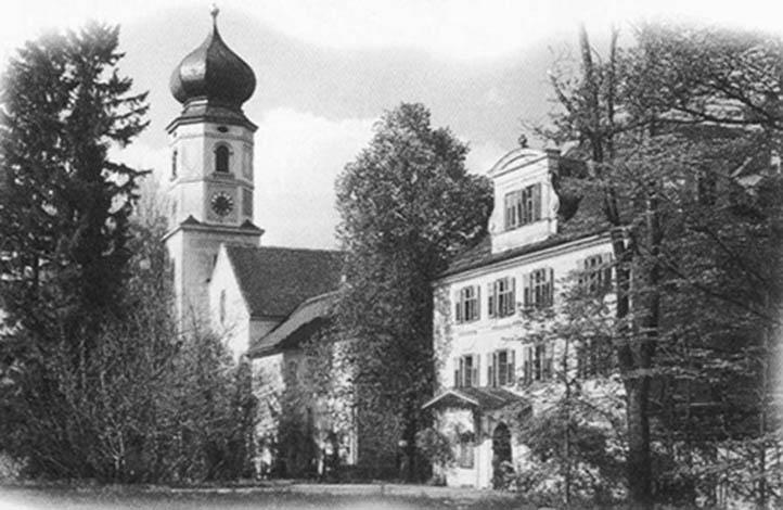 Bildungshaus Bernried - Geschichte des Hauses